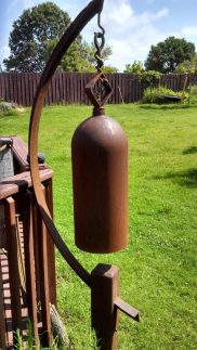 Back yard rustic bell.